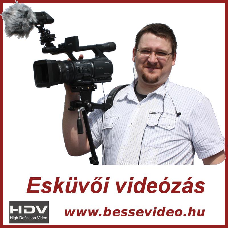 Besse Sándor esküvői videós